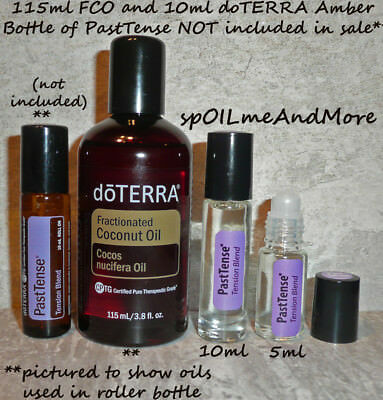 doTERRA PASTTENSE PAST TENSE Essential Oil blend DILUTED w/ FCO Rollerball Roll