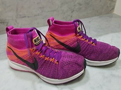 391962ad9b8e2 Nike Youth SIZE 4Y Zoom Pegasus All Out GS Purple Pink Kids Running 859622- 500