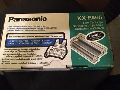 Genuine Panasonic KX-FA65 Film Cartridge