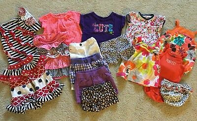 Lot Of 15+ Pieces ~ Baby Girl Clothes Outfit ~ Size 6-9 Months