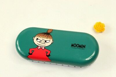 Moomin Characters Little My Metal Glasses box Green