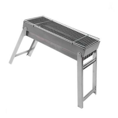 Metal Charcoal Grill BBQ Portable Folding Barbecue Grills 44x20x35.5cm