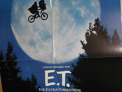 E.t. The Extra Terrestrial Video Store Promotional Poster Pepsi Special Olympics