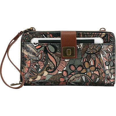 Sakroots Artist Circle Large Smartphone Crossbody Cross-Body Bag NEW