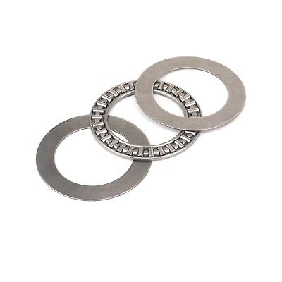 (1)40x60x3mm Thrust Needle Roller Bearing AXK4060 ABEC-1 Each With Two Washers