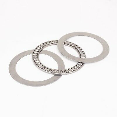(1)75x100x4mm Thrust Needle Roller Bearing AXK75100 ABEC-1 Each With Two Washers