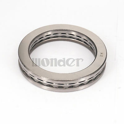 (1)51112 60 x 85 x 17mm Axial Ball Thrust Bearing (2 Steel Races + 1 Cage)ABEC-1