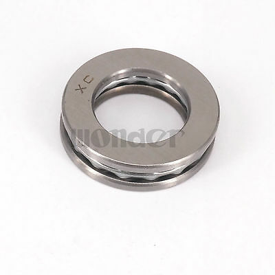 (1)51107 35 x 52 x 12mm Axial Ball Thrust Bearing (2 Steel Races + 1 Cage)ABEC-1