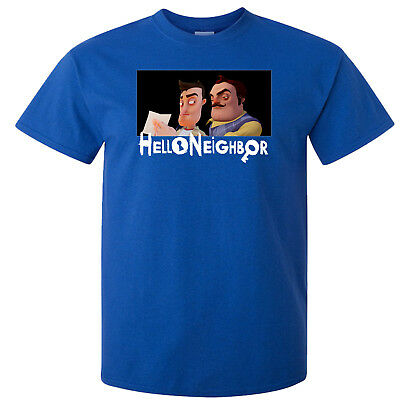 Childs T Shirt - Hello Neighbor - Many Sizes & Colors