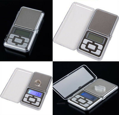 Pocket Digital Jewelry Scale Weight 200g x 0.1g 0.01g Balance Electronic Gram GB