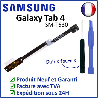 Nappe Flex Bouton Central Home Samsung Galaxy Tab 4 10.1 Sm-T530 T531 T535 Outil