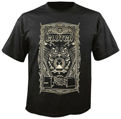 CLUTCH - All seeing Owl - T-Shirt