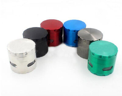 4 Layers Alloy Tobacco Grinder Metal Herb Mill Spice Crusher Herbal Cigar
