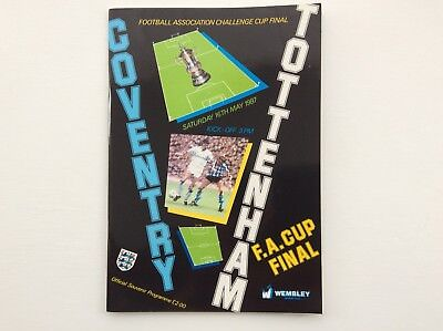 FA Cup Final Coventry V Tottenham 1987