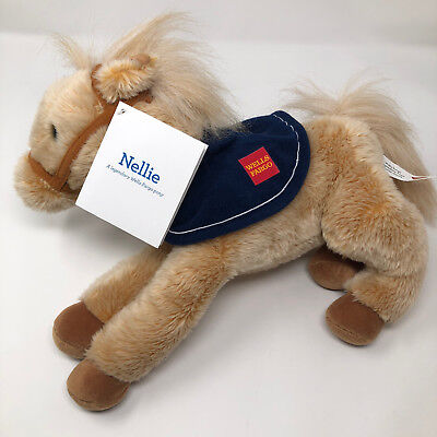 """Wells Fargo Plush Pony — Nellie — 14"""" Long with Tags"""