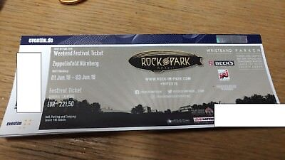 Rock im Park 2018 Ticket - General Camping