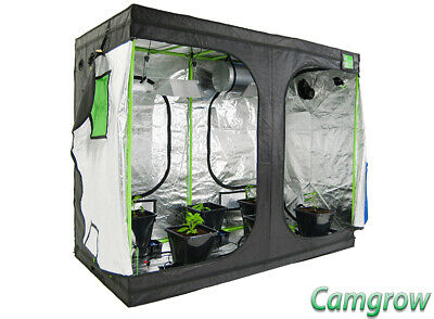 Green Qube 2.4m x 1.2 x 2.2m - Grow Tent  ( Extended Height ) Hydroponics