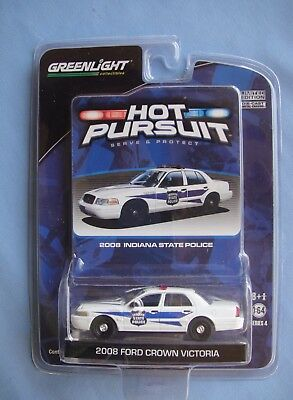 2010 GREENLIGHT  HOT PURSUIT 2008 Ford Crown Victoria INDIANA STATE POLICE