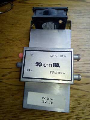 23cm PA in 0,4W out 10W. 24V