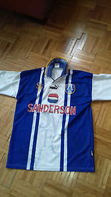 Sheffield Wednesday Trikot Gr.M alt