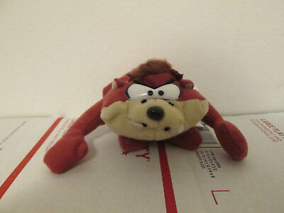 "Taz Tazmanian Devil 8""  Plush Brown Looney Tunes Warner Brothers Play By Play"