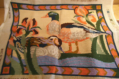 Ehrman 1989 - Finished Tapestry - Eqyptian Duck by Lucinda Ganderton