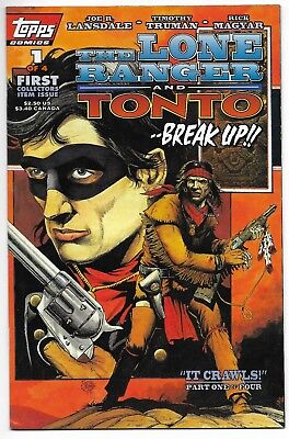 The Lone Ranger and Tonto #1 1994 Topps Comics Very Fine-Near Mint