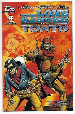 The Lone Ranger and Tonto #2 1994 Topps Comics Near Mint