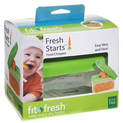 Fit & Fresh - Fresh Starts Baby Food Prep Container, 2-Cup Capacity Container