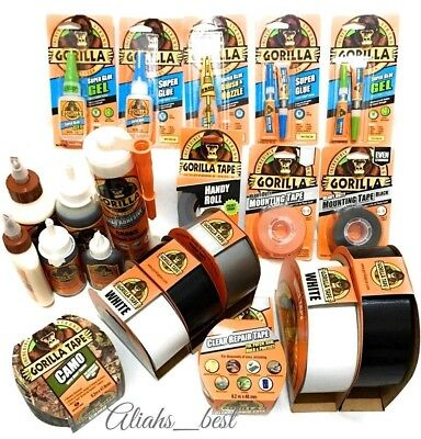 Gorilla Glue Tape Super Glue Impact-Tough 100% Waterproof Strong Glue Adhesive.