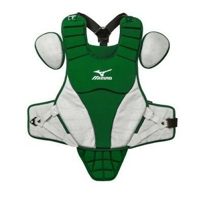 (36cm , Forest/Grey) - Mizuno Samurai Youth Chest Protector. Unbranded