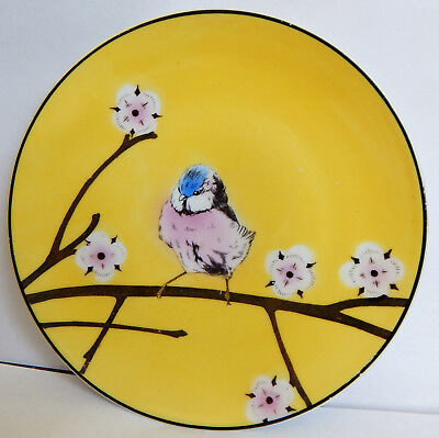 Collectible Rudolstadt Bird Plate, Handpainted, Made In Germany, Perfect Cond.