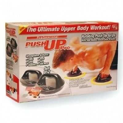 PUSH UP PRO BODY WORKOUT ABS CHEST FITNESS KIT GRIPS. DRW. Huge Saving