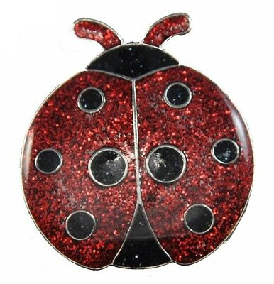 Navika Ladybug Glitzy Ball Marker with Hat Clip. Navika USA Inc.