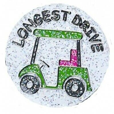 Navika Longest Drive Glitzy Ball Marker with Hat Clip. Navika USA Inc.