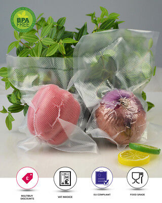 Food Vacuum Sealer Bags Embossed Bpa Free 90 Micron
