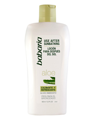 Babaria After Sun Aloe-Vera-Lotion, 400 ml