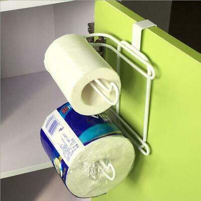 CHROME OVER The Tank Cistern Hanging Double Dual Toilet Roll Paper ...