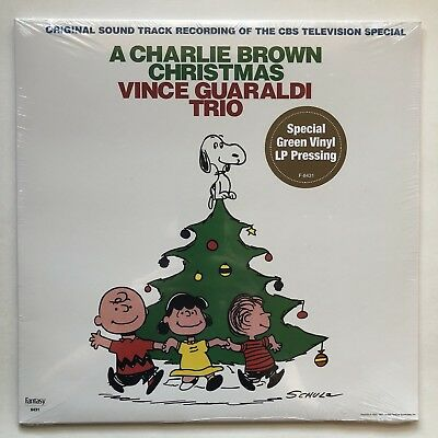 Charlie Brown Christmas Vince Guaraldi Trio New Sealed Green Vinyl LP Record