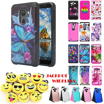 For Alcatel A30 Plus/Walters/Tmobile REVVL Hybrid Dual Layers Phone Case Cover