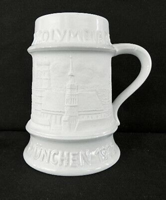 Unusual Beer Mug Stein Munich Olympic Games 1972  Perfect Condition Nr
