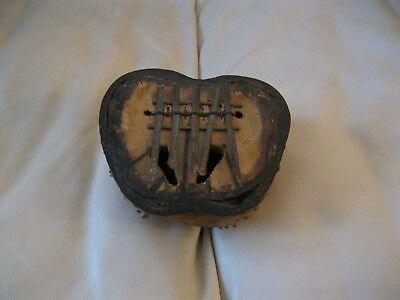 Vintage Handmade Kenyan Finger Piano African Musical Instrument Made in Africa