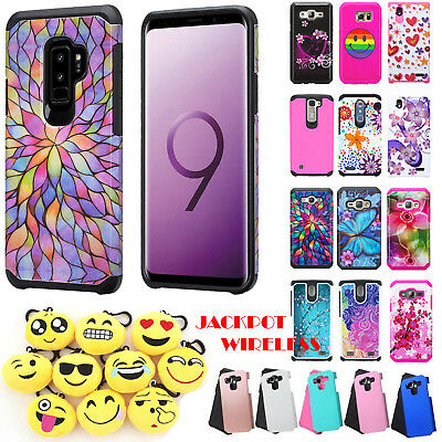 For Samsung Galaxy S9/S9 Plus Hybrid Slim Shockproof Protective Hard Phone Case