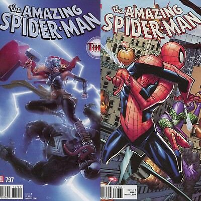 Amazing Spider-Man #797 Variants LOT/SET NM Red Goblin Marvel Osborn SOLD OUT