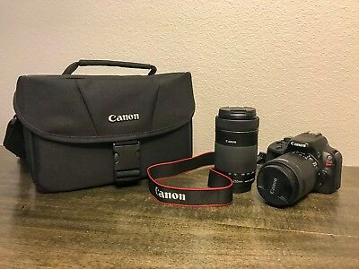 Canon EOS Rebel SL1 / EOS 100D 18.0MP Digital SLR Camera - Black (w/ IS STM