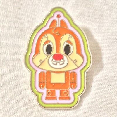 1 Chip/Dale Pin Disney Hong Kong Disneyland Trading Pin Robot Booster Set