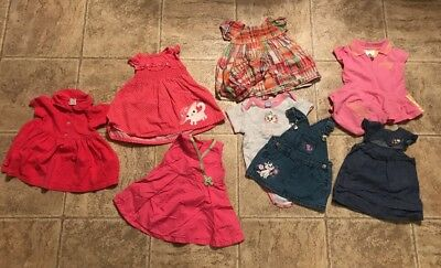 Baby Girl 3-6 Month Spring Summer Clothes Outfits Lot Dresses 10 Piece! GREAT!