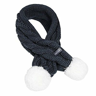 Kids Winter Warm Knitted Long Scarves Fashion Solid Color Cable Scarf Boys Gi...