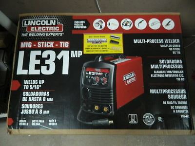 Lincoln Electric LE31MP Multi-Process Stick/MIG/TIG Welder with Magnum