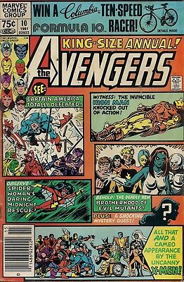 Avengers Annual #10 Marvel Comics 1981